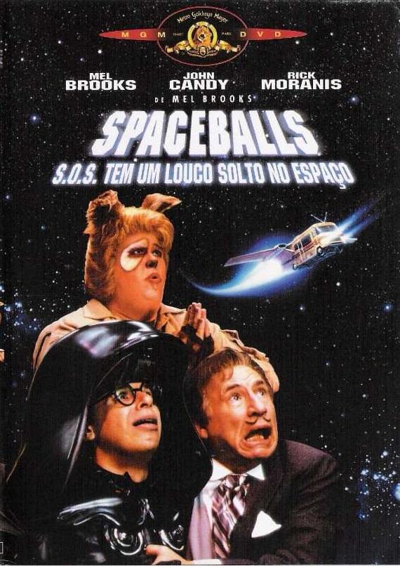 spaceballs sos tem um louco solto no espaco