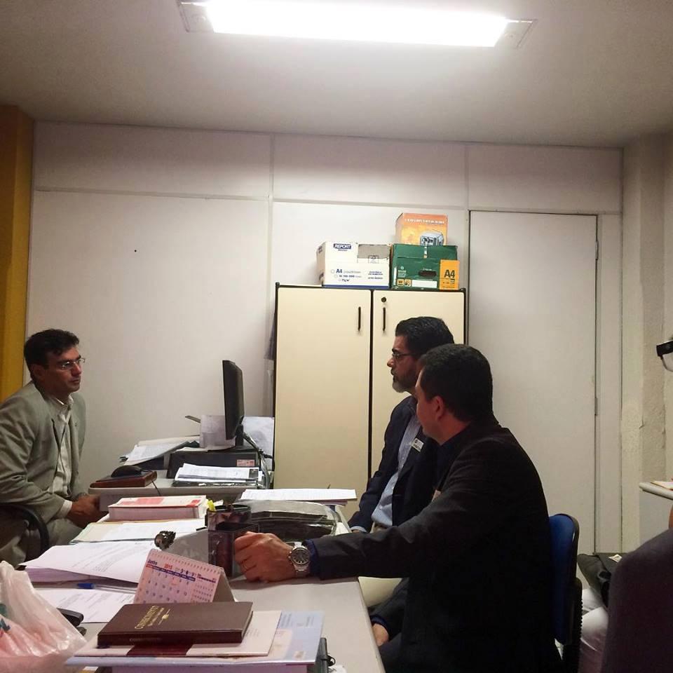 João Alfredo depõe sobre caso de italiana na Delegacia Geral da Polícia Civil (FOTO: Reprodução Facebook)
