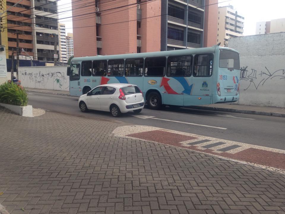 Ônibus receberão faixa exclusiva na via (FOTO: Roberta Tavares/Tribuna do Ceará)