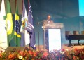 Joaquim Barbosa falou sobre otimismo em relação às investigações de corrupção no país (FOTO: Hayanne Narlla/ Tribuna do Ceará)