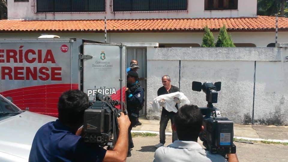 Polícia só foi chamada na manhã deste domingo (FOTO: Notícias de Paracuru)