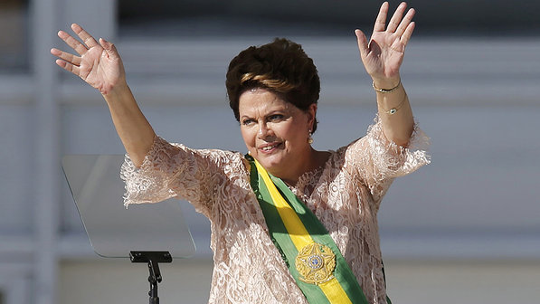 Dilma Rousseff visita o Ceará pela primeira vez este ano (FOTO: Divulgação)