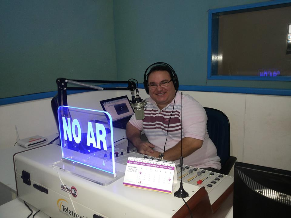 Áudio em que radialista incrimina blogueiro de apologia ao crime vaza (FOTO: Arquivo pessoal)