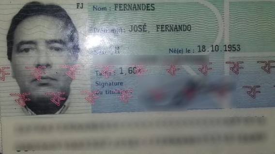 José Fernando foi atingido por dois tiros. Ele estava dentro do quarto no momento do crime (FOTO: Reprodução/Whatsapp)