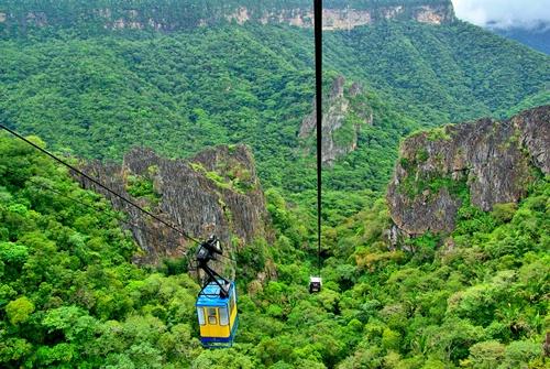 Inaugurado em 25 de março de 1975, o equipamento está instalado a 40 anos no Parque Nacional de Ubajara (Foto: Divulgação)