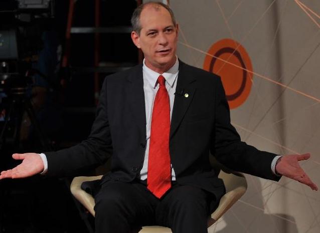 Durante filiação ao PDT, Ciro Gomes anunciou a possível candidatura à Presidência da República (FOTO: Agência Brasil/Marcello Casal Jr.)