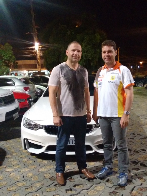 Fundadores do grupo Carlos e Yngor (FOTO: Hayanne Narlla/ Tribuna do Ceará)