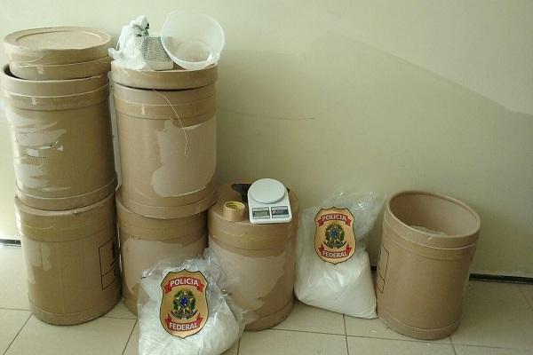 Material apreendido durante a operação. (FOTO: Divulgação/ Polícia Federal)