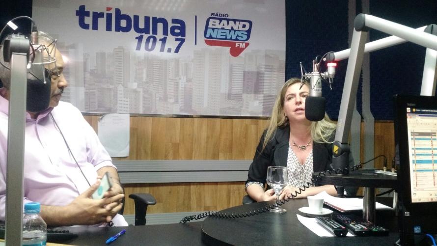 Luizianne aproveitou para alfinetar a atuação do prefeito Roberto Cláudio (FOTO: Emílio Moreno/Tribuna do Ceará)