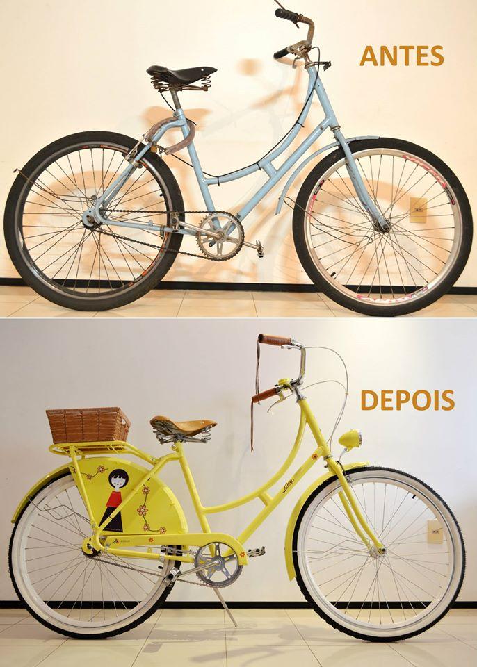Projeto restaura e reforma modelos clássicos de bicicletas (FOTO: Reprodução Facebook)