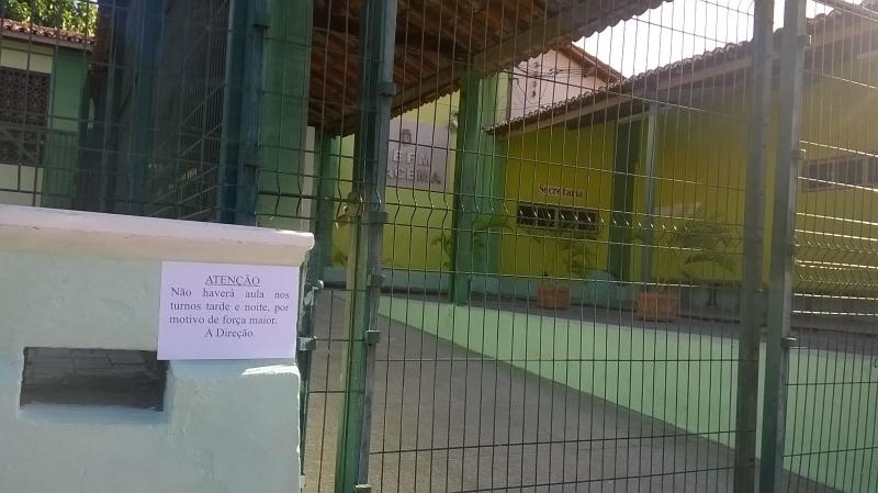 Escola suspende aulas por causa do clima de insegurança em Messejana (FOTO: Reprodução)