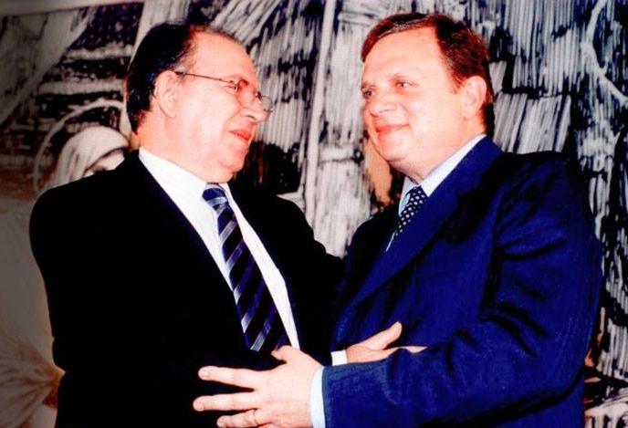 Tasso publicou foto no Facebook. Beni foi responsável pelo projeto que tornaria Tasso governador (FOTO: Reprodução Facebook)