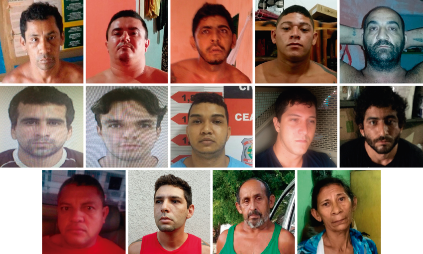 Investigações foram iniciadas em julho deste ano, culminando nas prisões dos envolvidos (ARTE: Tribuna do Ceará)