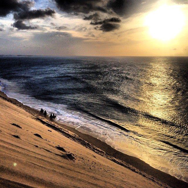 Crime aconteceu na duna do pôr do sol em Jericoacoara (FOTO: Gustavo Spíndola)