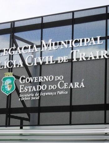 Delegacia de Trairi-Ce (FOTO: Divulgação)