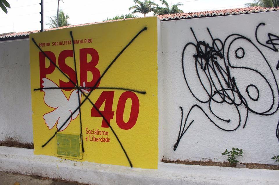 PSB publicou nota de repúdio contra ato (FOTO: Divulgação)