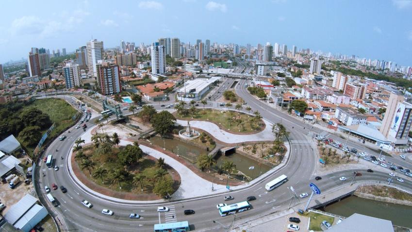 A primeira etapa da obra prevê a construção de um viaduto que garantirá acesso expresso à BR-116. (FOTO: Reprodução/Prefeitura de Fortaleza)