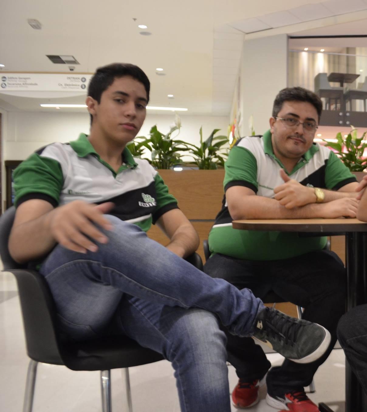 Mateus Gomes e Rodrigo Marques (Foto: Arquivo Pessoal)