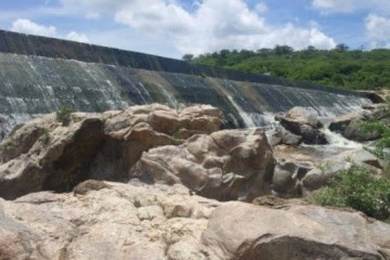 Açude Caldeirões é localizado na Região do Alto Jaguaribe (FOTO: Governo do Estado/Divulgação)