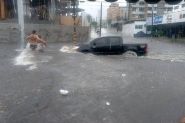 Avenida Heráclito Graça esquina com Antônio Augusto (FOTO: Tatiana de Lima)