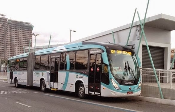 Ônibus deverão ter wifi a partir de fevereiro de 2016 (FOTO: Divulgação)
