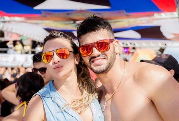 Johnny Moura estava ao lado da namorada quando foi assassinado (FOTO: Reprodução/Facebook)