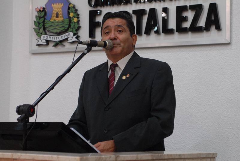O projeto é do vereador de Fortaleza Alípio Rodrigues (PTN) (Foto: Câmara Municipal de Fortaleza/Reprodução)