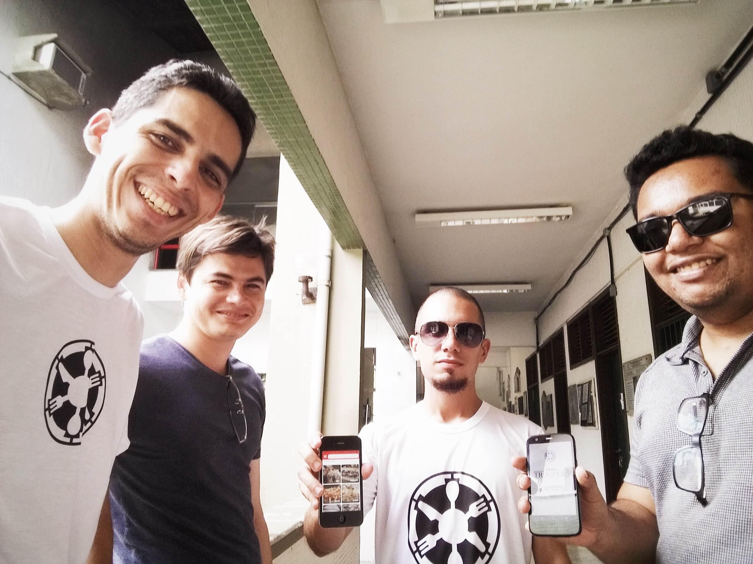 Cearenses criam aplicativo com informações sobre food trucks de Fortaleza