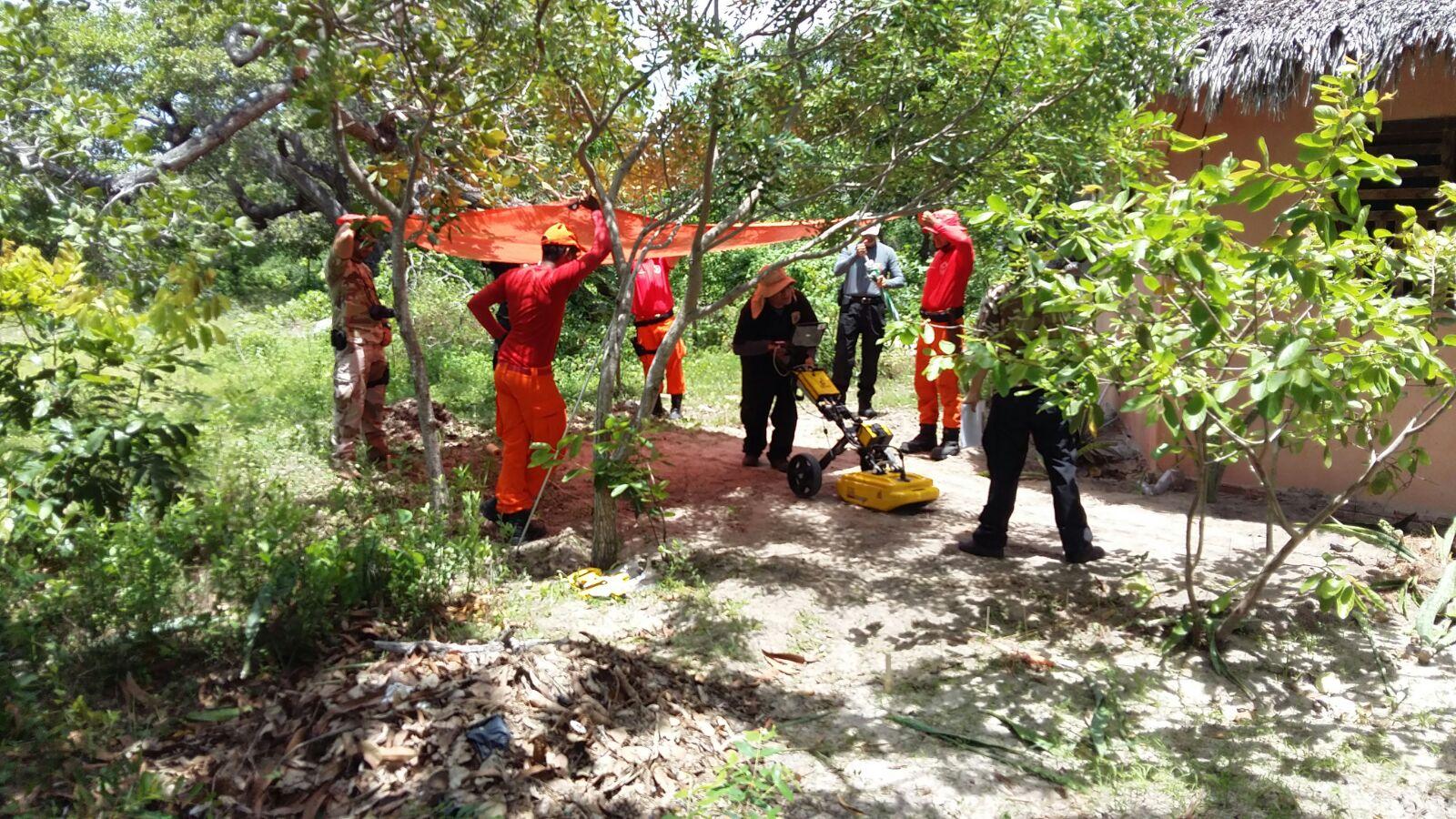 Polícia suspeita de homicídio e busca por corpo (FOTO: Divulgação/ Polícia Federal)