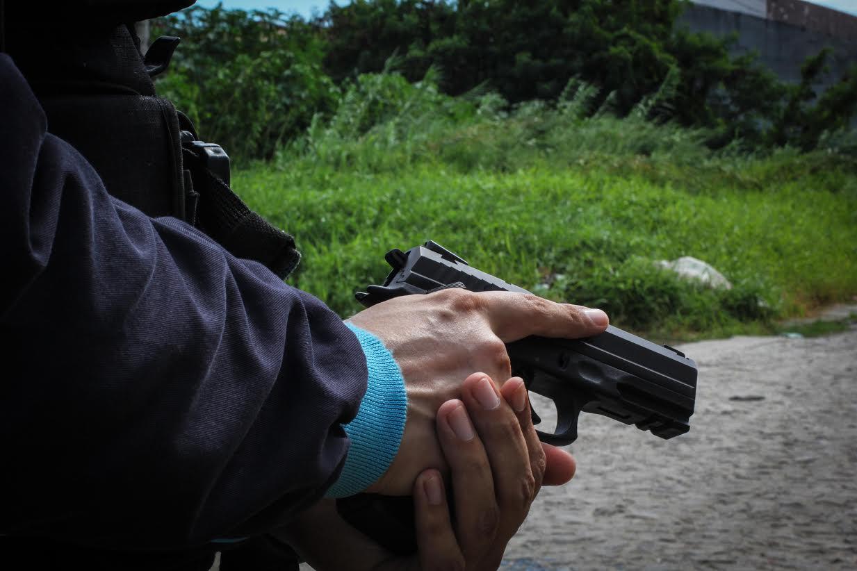 A sensação fez com que eles tomassem, por conta própria, medidas extremas de proteção (FOTO: Fernanda Moura/Tribuna do Ceará)