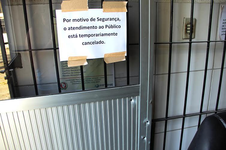 Os ataques deixaram um rastro de medo entre os moradores que vivem próximos aos distritos. (FOTO: Fernanda Moura/Tribuna do Ceará)