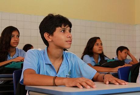 Ensino direcionado se dá a partir da 5ª série até o 9º ano. (FOTO: Prefeitura de Fortaleza)