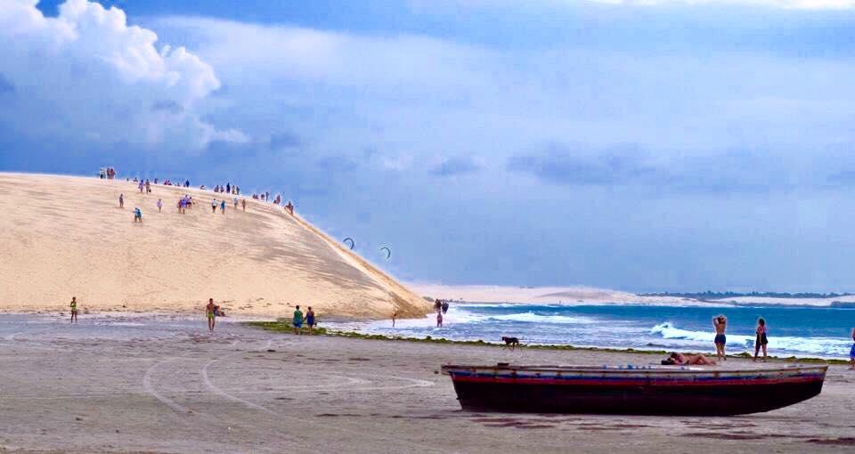 De acordo com os moradores, os furtos e assaltos acontecem nas dunas. (FOTO: Gustavo Spíndola)