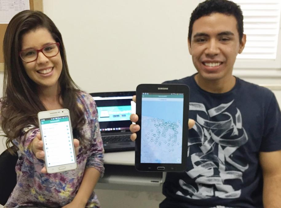 Estudantes criam aplicativo para indicar pontos de coletas de lixo em Fortaleza
