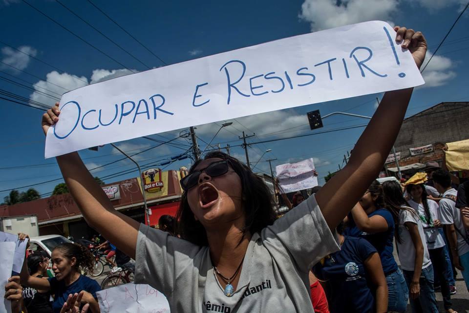 Movimento cresce: já são quatro escolas do Ceará ocupadas por estudantes