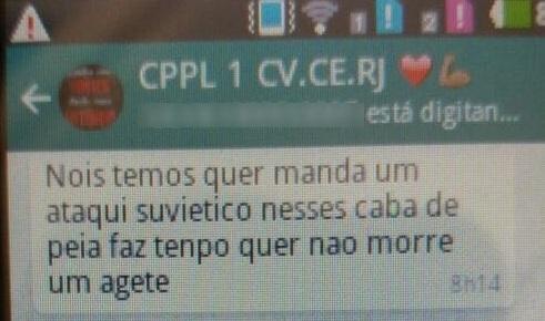 Prints de Whatsapp revelam conversa entre presos durante rebeliões no Ceará