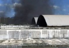 Presos da CPPL II atearam fogo em colchões. (Foto: Reprodução/Whatsapp)