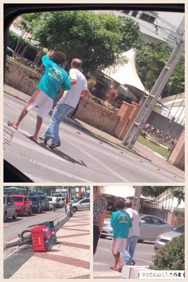 Ato de gentileza em Fortaleza gera comoção em internautas
