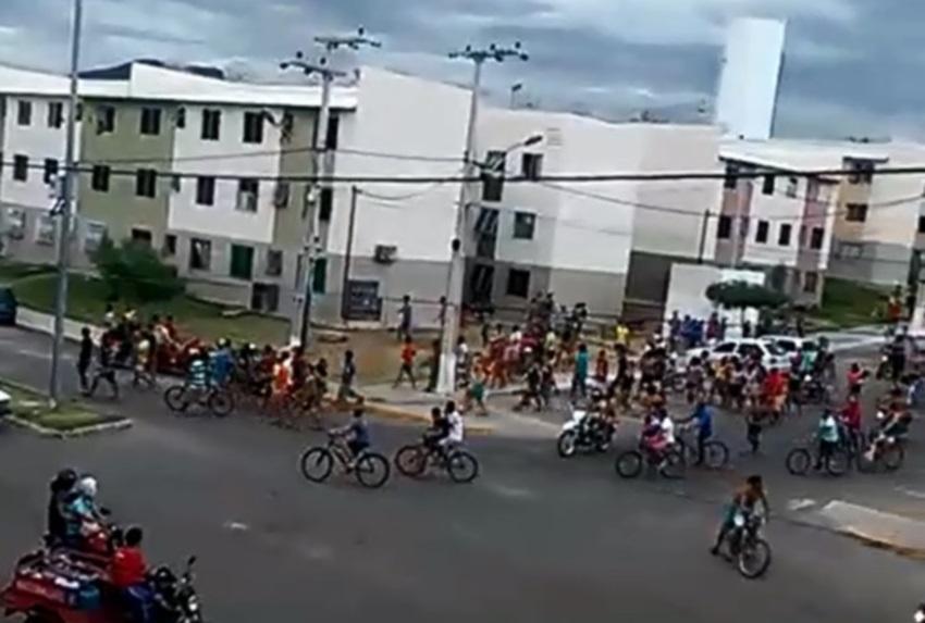 Comerciantes de Sobral temem nova passeata que resultou em mais de 80 prisões