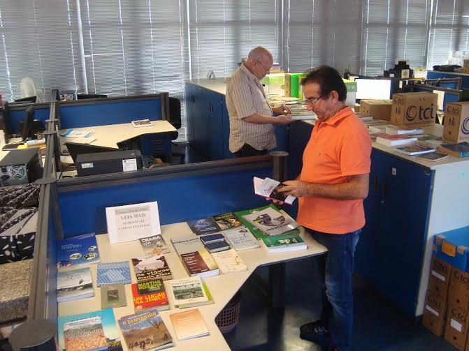 Engenheiro disponibiliza livros para estimular leitura entre os servidores do Dnocs
