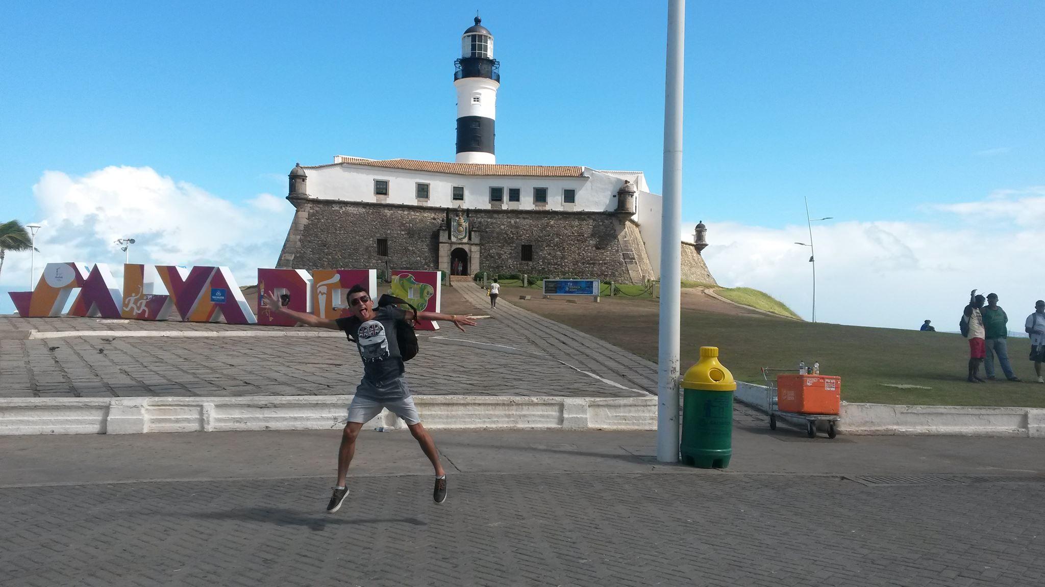 Cearense conta como viajou de Fortaleza a Salvador através de caronas e com R$ 90 no bolso