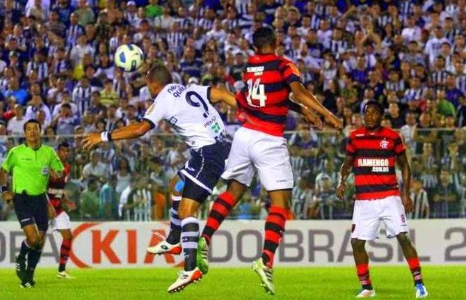Em 2011, o Vovô passou pelo Flamengo nas quartas da competição (Foto: divulgação/cearasc.com)
