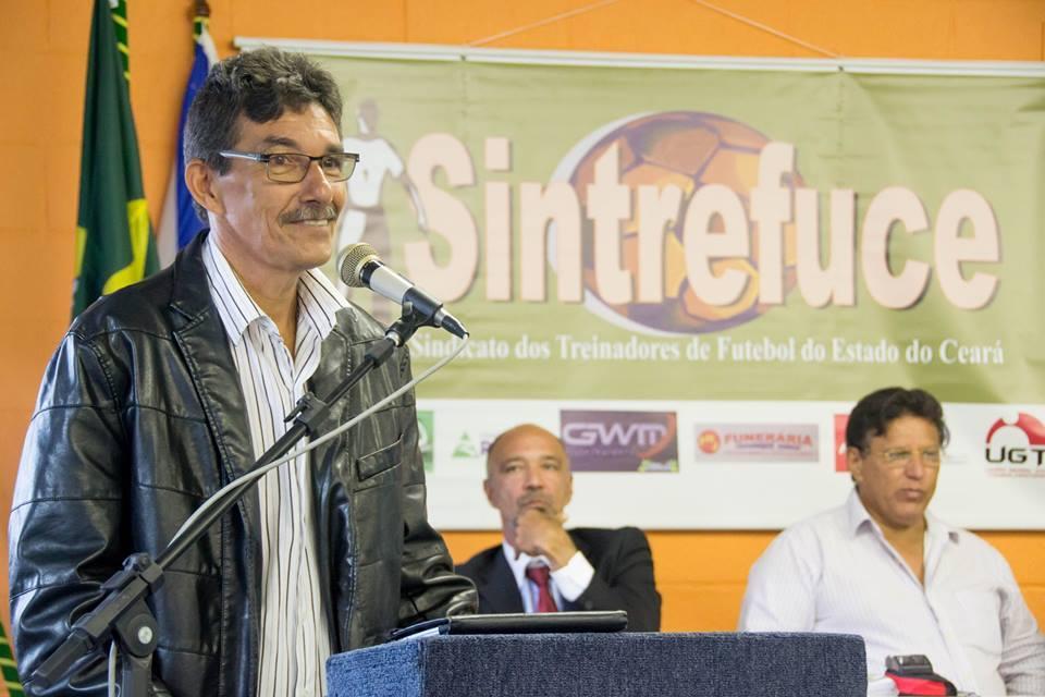 Edmundo Silveira também é presidente do Sindicato dos Treinadores de Futebol do Ceará (Foto: arquivo pessoal)