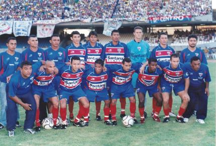 Em 2002, o Fortaleza conseguiu ter o acesso à Série A (Foto: arquivo pessoal)