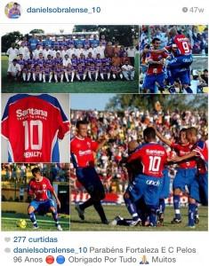 Daniel Sobralense participou do acesso em 2004 (Foto: reprodução/Instragram)