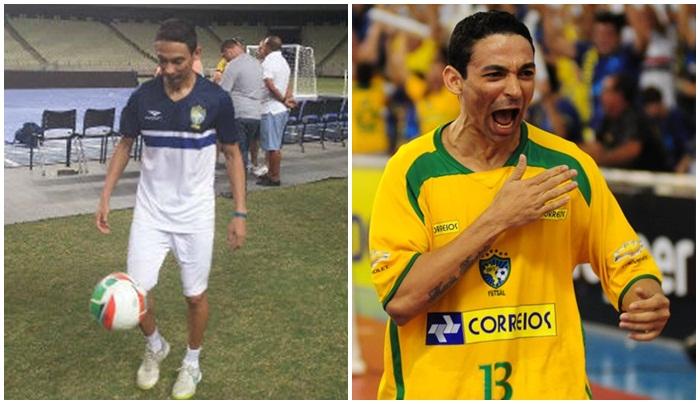77a605a12a Cearense há 10 anos na Seleção Brasileira já foi cobrador de ônibus ...