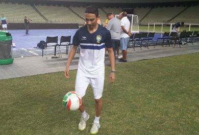 Valdin é um dos grandes nomes do futsal brasileiro (Foto: Lyvia Rocha/Tribuna do Ceará)