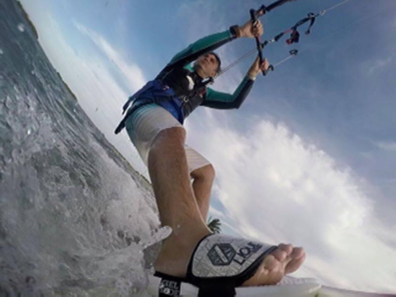 Marques Filho é o organizador da excursão de kite (Foto: arquivo pessoal)