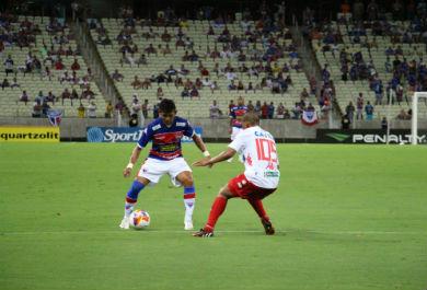 Maranhão tem vínculo com o clube, mas não jogará na Fares Lopes (Foto: Anderson Azevedo/Tribuna Band News FM)