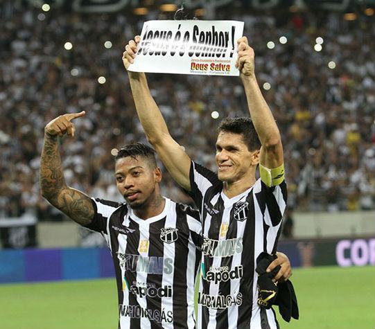 Os atacantes fizeram parte da campanha vitoriosa da Copa do Nordeste (FOTO: Christian Alekson/Cearasc.com)